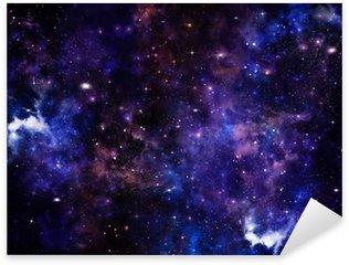 Pixerstick till Allt Vackra utrymme bakgrund, natthimlen med stjärnor