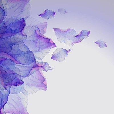 Pixerstick till Allt Vattenfärg blommor runda mönster.