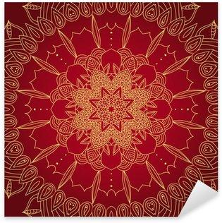 Pixerstick Dekor Vektor känslig spets runda mönster