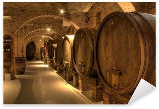 Pixerstick till Allt Vinkällare i klostret Monte Oliveto Maggiore