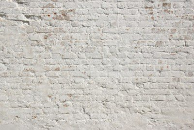 Pixerstick till Allt Vit Grunge tegel vägg bakgrund