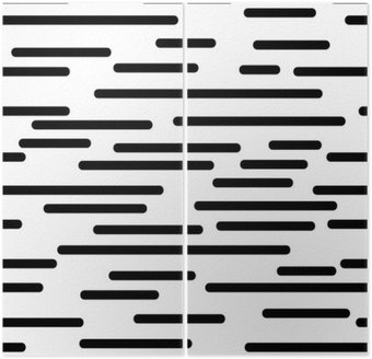 geometric texture with smooth lines Diptych
