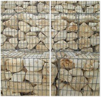 mur cailloux grillage trendy ordinary idee de cloture de jardin mur en grillage et cailloux. Black Bedroom Furniture Sets. Home Design Ideas
