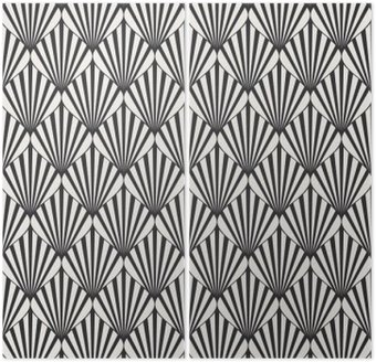 seamless geometric pattern Diptych