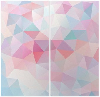 Diptych Abstract background