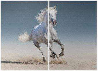 Diptyque Cheval blanc au galop
