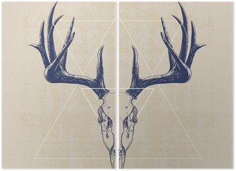 Diptyque deer skull