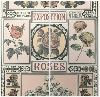 Diptyque Exposition de Roses