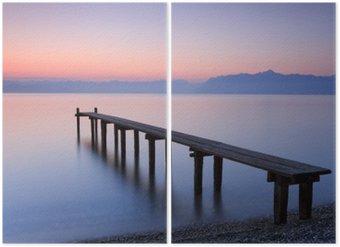 Diptyque Lac Léman, Suisse