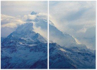 Diptyque Lever de soleil dans les montagnes