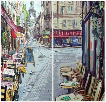 Diptyque Rue de Paris - illustration