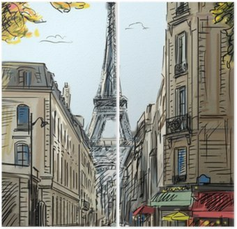 Diptyque Rue de Paris - illustration