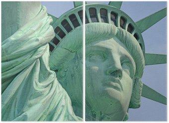 Diptyque Statue de la Liberté, Liberty Island, New York City