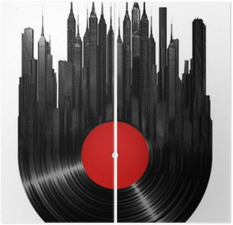 Diptyque Ville de vinyle