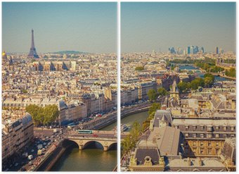 Diptyque Vue sur Paris