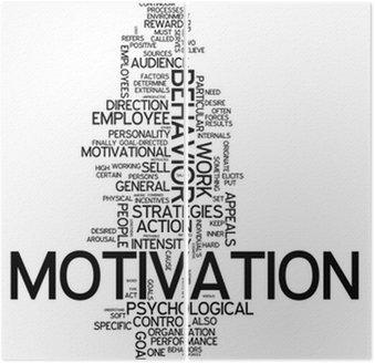 "Diptyque Word Cloud ""Motivation"""