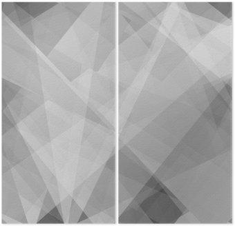 Dittico Lowpoly Sfondo alla moda con copyspace. Illustrazione vettoriale. strati opacità usati