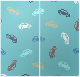 Dittico Seamless pattern - auto