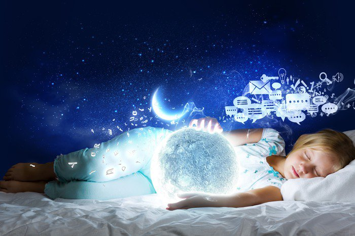 Obraz na Płótnie Dobranoc - Dzieci