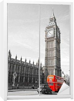 Dolap Çıkartması Big Ben, Parlamento Binası ve Westminster Bridge