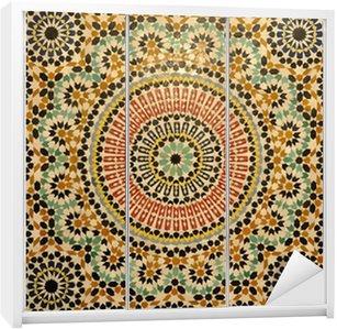 Dolap Çıkartması Fas Doğu mozaik dekorasyon