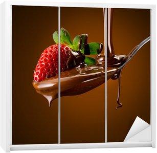 Dolap Çıkartması Fragola al cioccolato