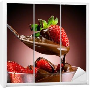 Dolap Çıkartması Fragole e cioccolato