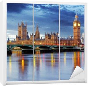 Dolap Çıkartması Londra - Big ben ve meclis evler, UK