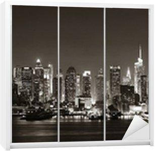 Dolap Çıkartması Midtown Manhattan silüeti