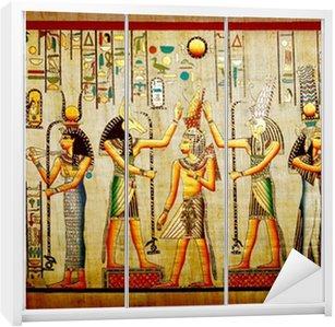 Dolap Çıkartması Papirüs Eski Mısır doğal kağıt