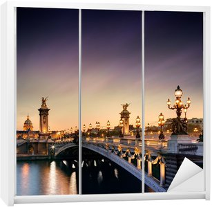 Dolap Çıkartması Pont Alexandre III PARIS