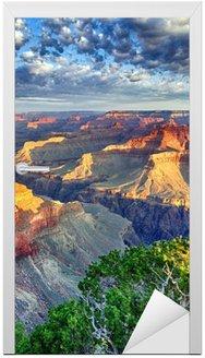 morning light at Grand Canyon Door Sticker
