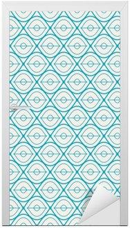 seamless geometric pattern Door Sticker