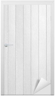 White Wood Door Texture white wood texture wall mural - vinyl • pixers® • we live to change