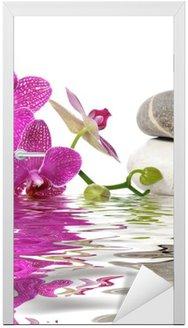 Dörrdekor Helt enkelt vackra orkidéer