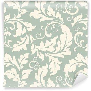 Vinil Duvar Kağıdı Desen floral seamless