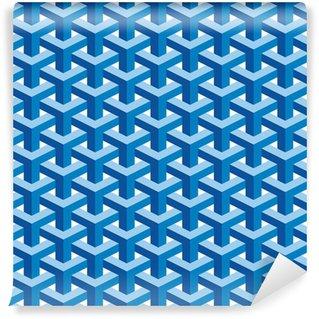 Vinil Duvar Kağıdı Dikişsiz Escher Desen