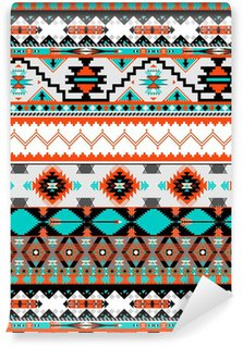 Vinil Duvar Kağıdı Dikişsiz Navaho desen