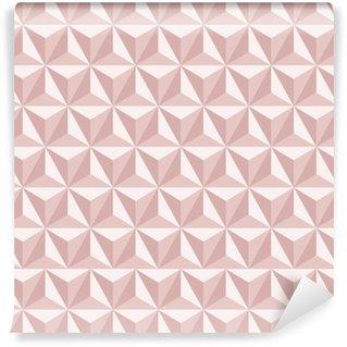 Vinil Duvar Kağıdı Dikişsiz soyut geometrik desen