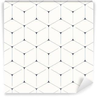 Vinil Duvar Kağıdı Geometrik arka plan, dikişsiz desen, altıgen