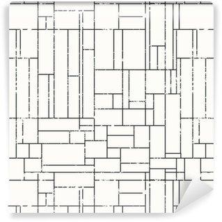 Pixerstick Duvar Kağıdı Grunge etkisi ile monokrom şeması kesintisiz doku