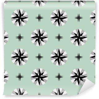 Vinil Duvar Kağıdı Güzel soyut seamless pattern