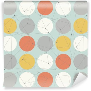Vinil Duvar Kağıdı İskandinav geometrik Modern seamless pattern