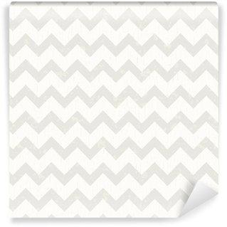 Pixerstick Duvar Kağıdı Kesintisiz beyaz Chevron desen