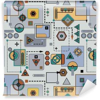 Pixerstick Duvar Kağıdı Mekanik dikişsiz desen 2.1