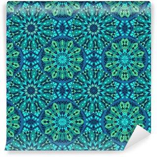 Vinil Duvar Kağıdı Mozaiğin Seamless pattern