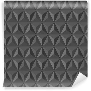 Vinil Duvar Kağıdı Olağandışı eski soyut geometrik desen.