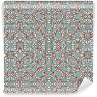 Vinil Duvar Kağıdı Renkli vektör kesintisiz duvar kağıdı