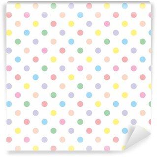 Pixerstick Duvar Kağıdı Seamless vector desen arka plan pastel renkli Lekeli