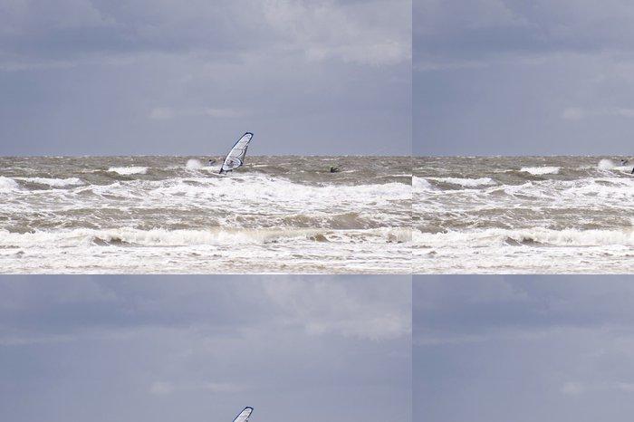 Vinil Duvar Kağıdı Sörfçü - Tatil